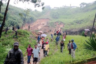 Second float and bug landslide, Bamenda, Cameroon