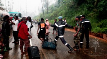 Second float and bug landslide, Bamenda, Cameroon